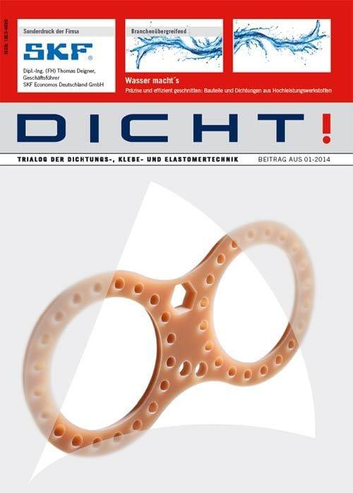 Präzise und effizient geschnitten: Bauteile und Dichtungen aus Hochleistungswerkstoffen